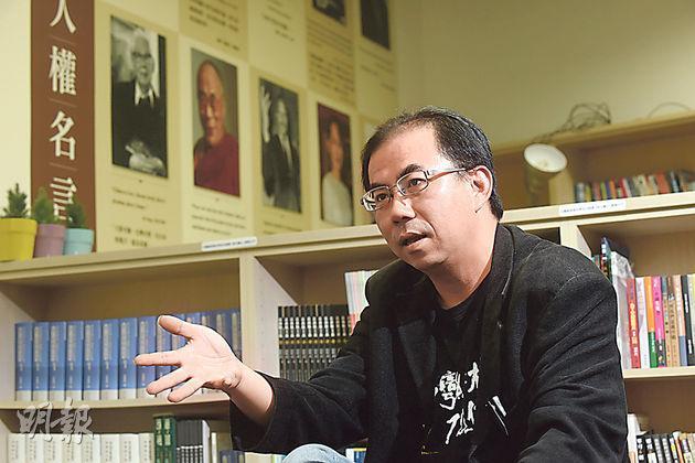 野百合糾察、台灣人權促進會會長邱毓斌