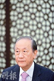 新黨主席郁慕明批評李登輝「叛黨叛國」,認為台灣社會是民粹不是民主。(黃志東攝)