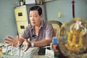 赤柬統治的幾年間,鄭江被迫撤離到農村過合作社生活,每日提心吊膽害怕被捉走處決,村子由1000多人死剩百餘人。(胡景禧攝)