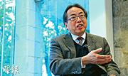 香港大學前校長徐立之指出,香港產業向金融業傾斜,令志在科研的學生感前無去路,以致轉投金融界,若未來人才單一化,會限制香港未來發展及競爭力,減絕自己的前途。(林俊源攝)