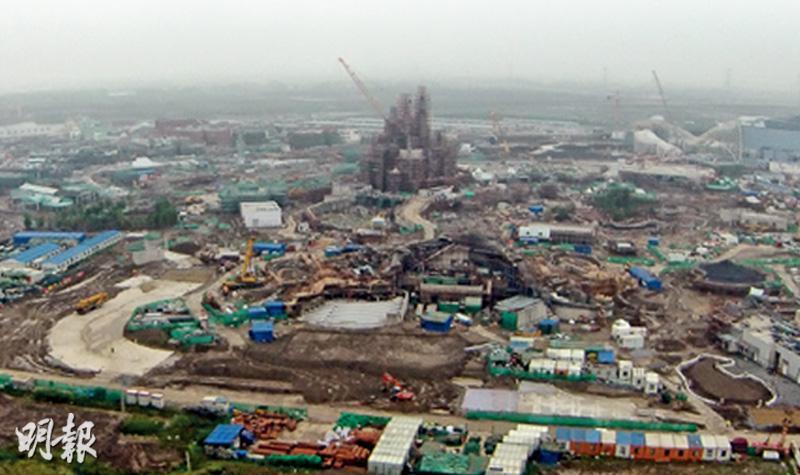 上海迪士尼樂園現形
