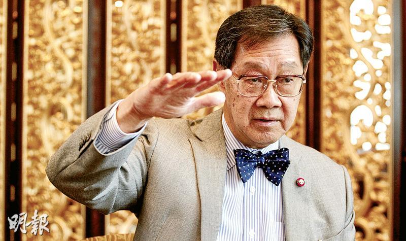 泰國副首相帕蒂亞通上周四來港訪問時提到,克拉運河的想法早已過時,現正研究同址修建一條地底輸油管。他又強調這是泰國自己的項目,不需要跟中國商量,項目投資也會對各方開放。(郭慶輝攝)