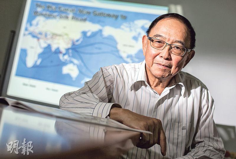泰中文化經濟協會的帕克蒂是上屆政府克拉運河委員會的成員,他從10多年前就開始投入克拉運河的相關研究,無奈數屆泰國政府有意推進,政權更替後卻無法延續計劃,他說﹕「這是我們泰國最後的機會。」(李澤彤攝)