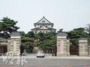長春的日本關東軍司令部舊址建築具有濃郁的日式風格,現為中共吉林省委所在地。(龐皎明攝)