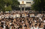 2014年9月22日,大專生罷課。(余俊亮攝)