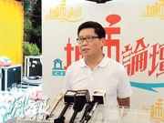 佔中發起人陳健民昨出席《城市論壇》,他相信今日再現佔領的可能不大。(梁智康攝)