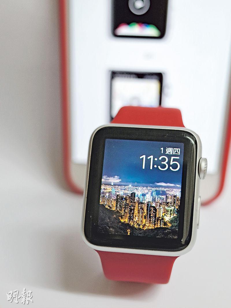 表殼表帶換新look 系統升級 Apple Watch腕上賞英美法靚景