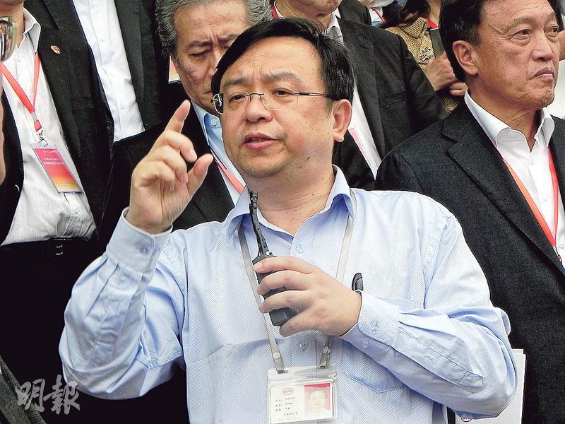 比亞迪科技董事長王傳福日前在深圳談到自己的創業感受。(李泉攝)