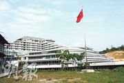 位於深圳市大鵬禾塘仔的國家基因庫已建成,佔地11.6萬平方米,明年初投入使用。(楊立贇攝)