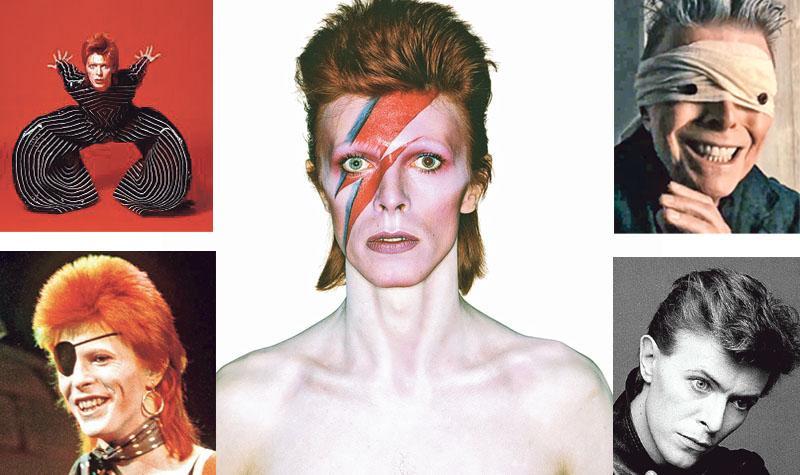 搖滾巨星David Bowie逝世 「我在天堂」告別  歌影留人間