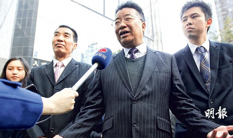 劉夢熊圖妨司法罪成囚18月  聞判愕然 寄語梁振英「若然不報,時候未到」