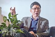 「禽流感獵人」管軼是最早一批參與中港合作的專家,他認為香港科學家尚未放下「當老闆」心態,內地科學家做研究則不夠耐性。管軼指出,兩地都要認清不足,以香港經驗加上內地資源,才可雙贏。(蘇智鑫攝)