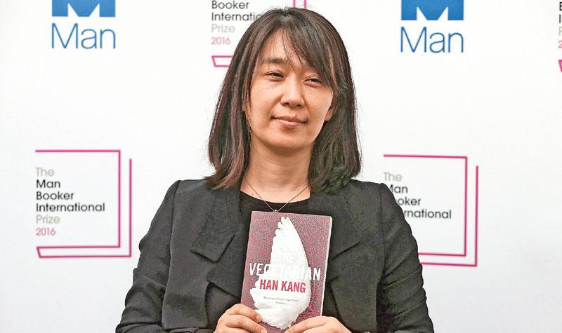 韓首奪世界文壇大獎  女作家布克國際獎摘桂  「提問人性難題」