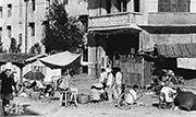 圖中的廣西宣武縣城中心,1968年時是當年屠殺和殺人分食的「狂暴中心」。(黑白資料圖片)