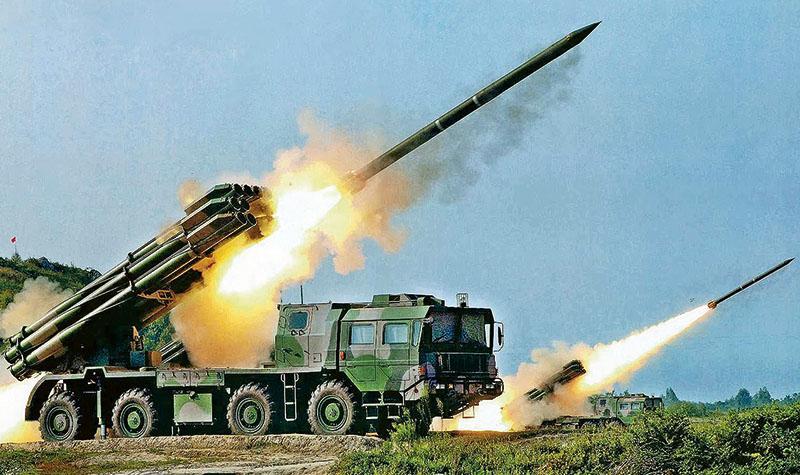 解放軍火箭炮射程覆蓋新竹 可跨海支援攻台登陸作戰