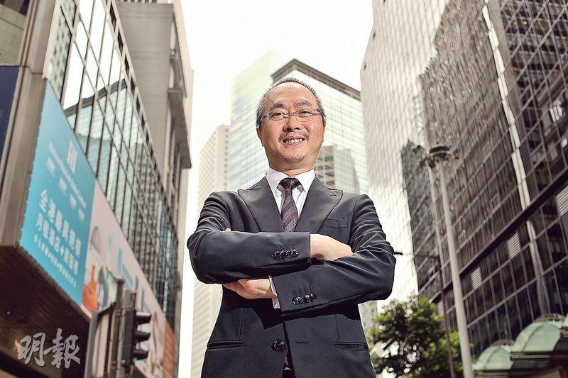 中原中國主席黎明楷表示,到內地發展不單可做代理,還可有全方位的發展機遇。