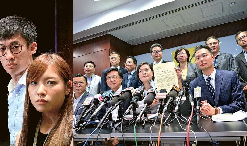 建制派循法律狙擊 游梁拒道歉 梁君彥:今裁決宣誓準則 無權要求道歉