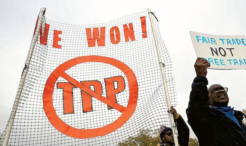 特朗普:上任首日退出TPP  網上公布百日大計  強調「美國優先」