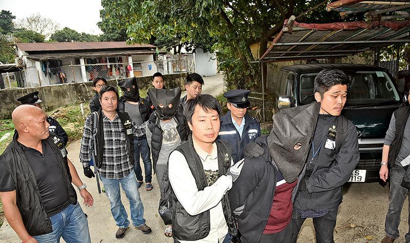 飛虎搗蛇匪竇 起500萬元贓物 拘3內地漢 涉上月爆竊名人獨立屋