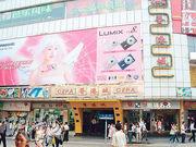 當年位於廣州北京路、上下九步行街的「CEPA香港城」,其中有不少港人經營的零售商舖,人潮如鯽,圖為2005年時北京路香港城。(資料圖片)