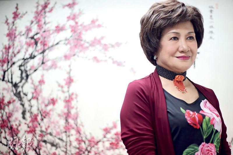 江素惠說,對她而言,一國兩制的價值在於香港扮演兩岸溝通的橋樑。(曾憲宗攝)