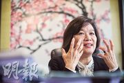 立法會議員兼城大法律學院副教授梁美芬(圖)認為,回歸20年來港府在人權方面維護得很好,當中遊行示威及言論自由的權利,更比回歸前進步及開放。(馮凱鍵攝)