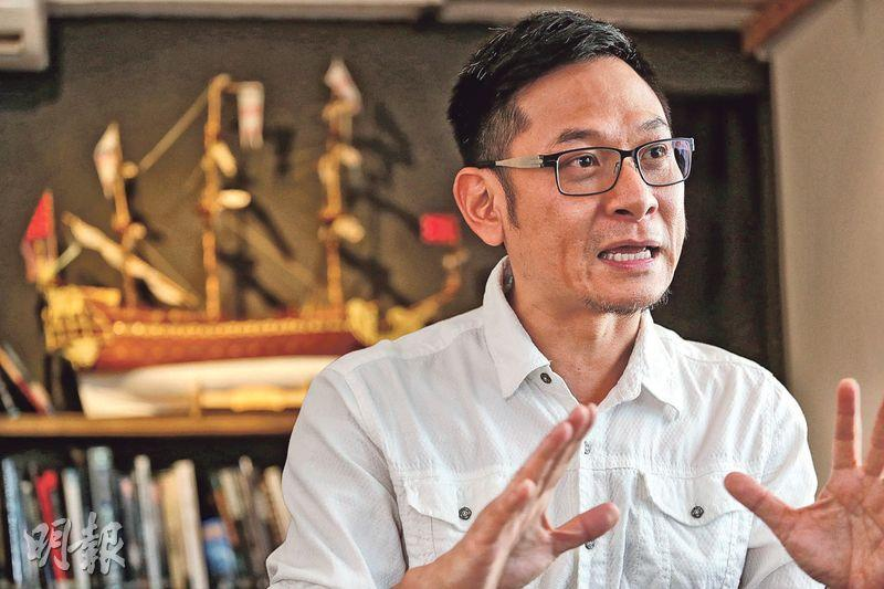 香港電影美術學會副會長莫少宗(圖)稱,部分電影移師內地搭景,因成本及工作需要會聘請當地人,或影響本地年輕新血加入劇組的機會,幸現時微電影等新形式湧現,成另一入行渠道。(李紹昌攝)