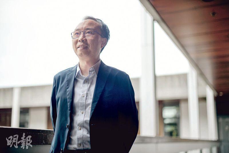 中大中文系副系主任鄧思穎表示,語言會隨環境而變化,同時亦會有其生存之道。(蘇智鑫攝)