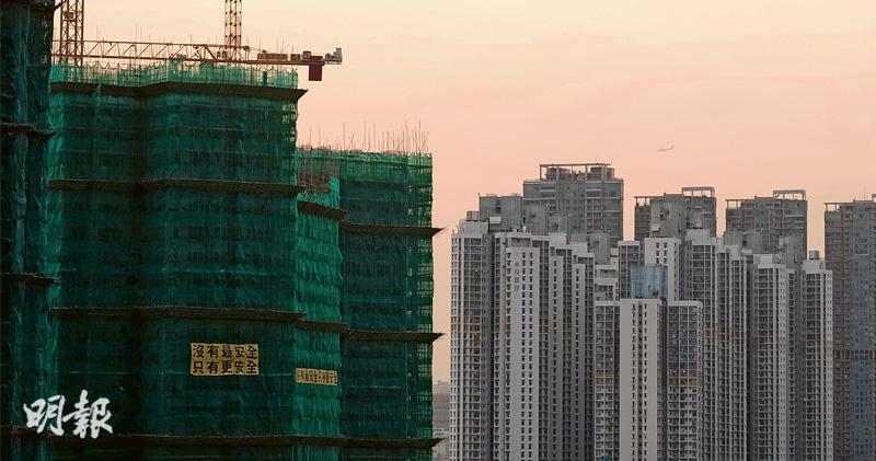 私樓供應新高 未來3年9.8萬伙 業界指需求強勁 樓價難大調整