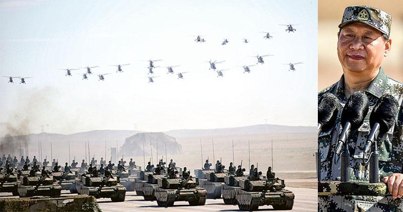 習沙場閱兵:黨指向哪打到哪 1.2萬兵集結朱日和 40%裝備首亮相