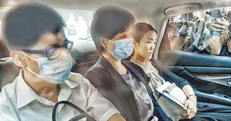 副局蔡若蓮長子墮樓亡 去年鐵人賽重傷 其後患抑鬱