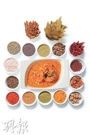 印度咖喱千滋百味 七彩香料搭配無限