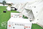 頂級帳篷醫院 72小時抵全世界