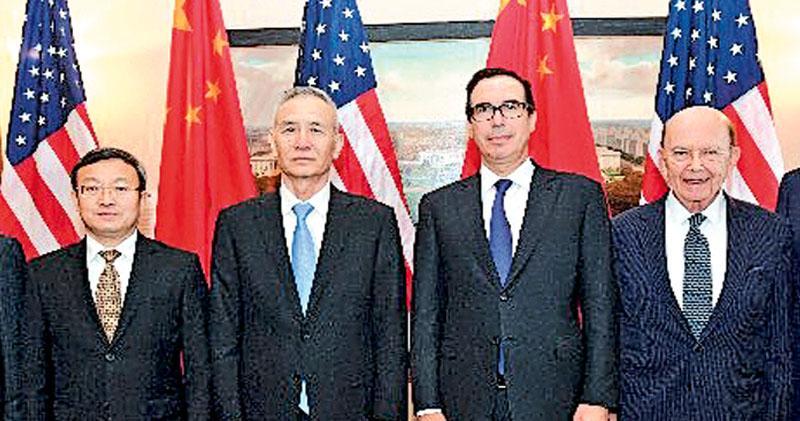 中美簽聯合聲明 同意不打貿易戰 華擴對美採購 梅努欽:農產品銷量料增40%