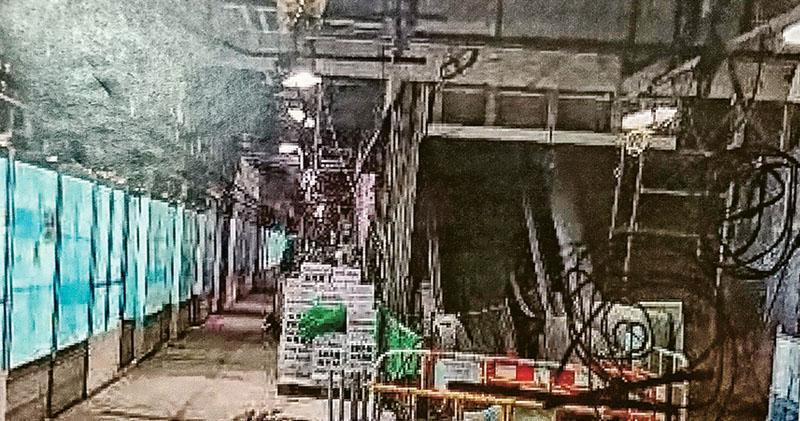 承建商施工失誤 牆太厚補救 土瓜灣站偷薄牆身 鋼筋雙層變單層