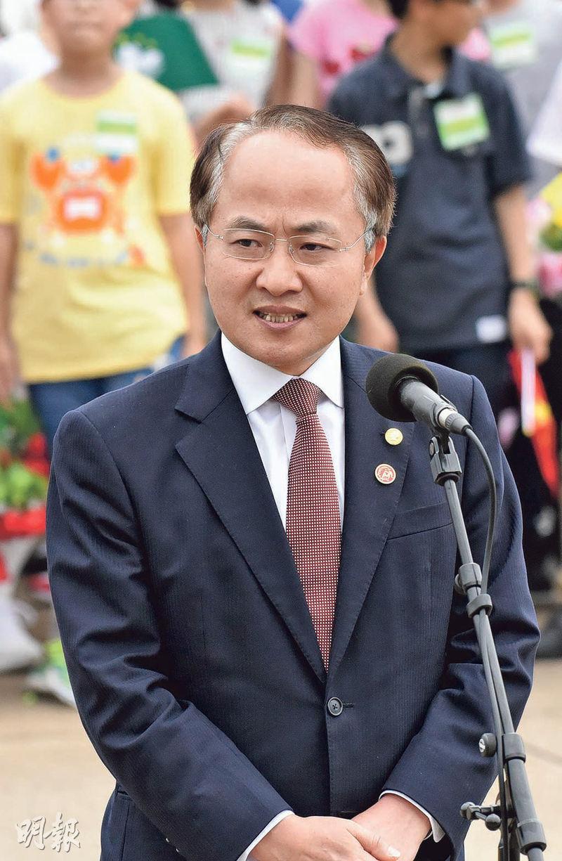 中聯辦主任王志民在中共中央黨校報章《學習時報》撰文,稱香港要堅守「一國」之本,善用「兩制」之利。(資料圖片)