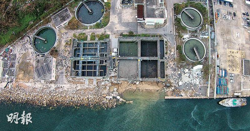 西貢處理廠損毁 污水排牛尾海 無二級淨化恐含菌 修復需時