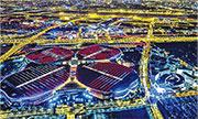 進博會200噸「巨無霸」預裝 下月初上海開幕 料全球2800企簽約參展