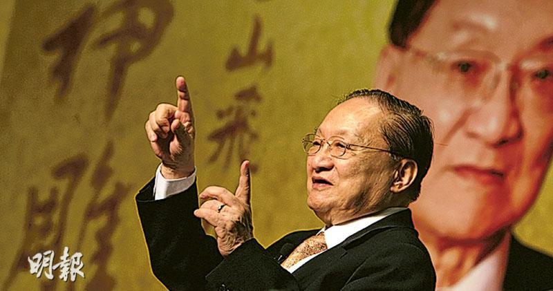大俠笑別 江湖傳世 查良鏞逝世享年94 倪匡讚:5000年來第一人