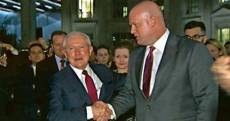 司法部長被辭職 特朗普提拔心腹 紐時:鋪路攆走「通俄門」特檢