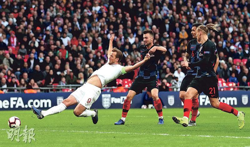 三獅絕殺克軍晉歐國聯4強 卡尼做英雄 取世盃後首國際賽入球