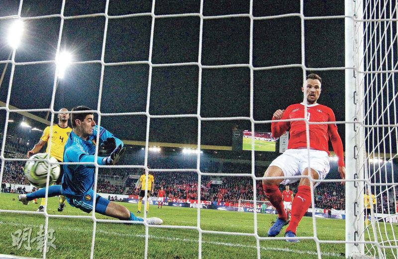比利時反負瑞士無緣4強 歐國聯頻爆冷 列強形勢世盃後執位
