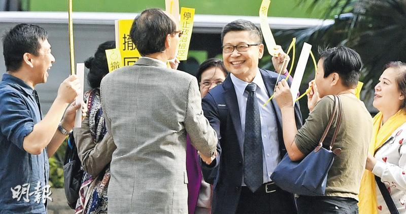 陳健民自辯憶述晤林鄭劉江華:民間「公投」報告 官員留梳化