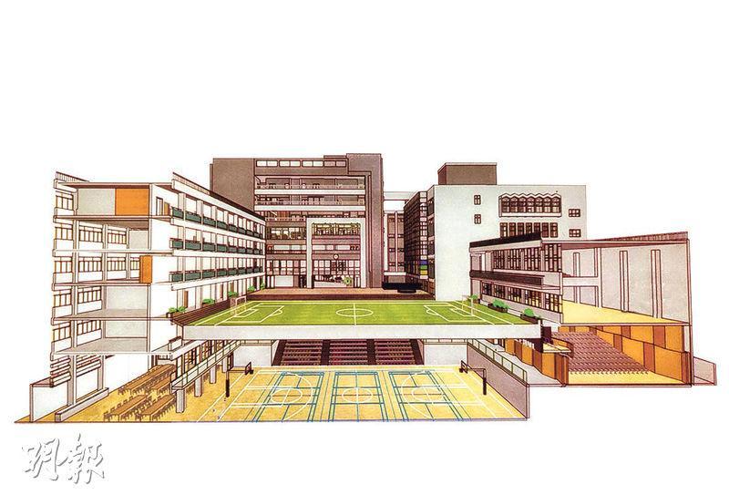 聖保羅書院籌3.8億擴建 增課室面積建運動場 校長:兩年沒談加費