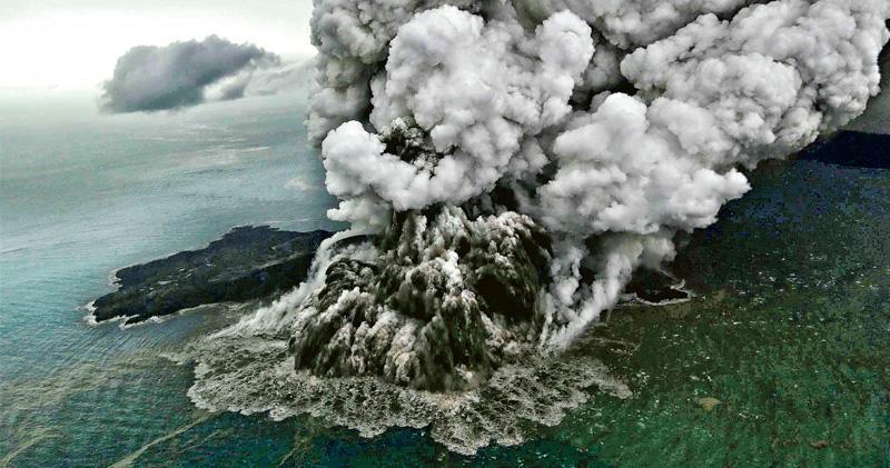 印尼海嘯預警6年無運作 火山引發巨浪難偵測 總統矢言改善