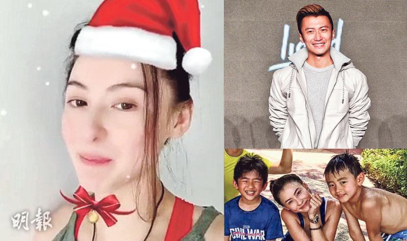 網民祝福「鋒芝」復婚 張栢芝與3子過聖誕:辛苦但幸福