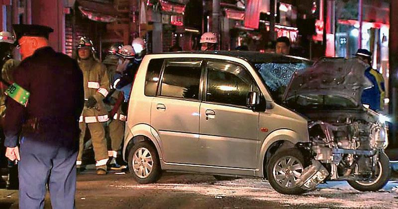 報復處死真理教徒  日男驅車撞人  事發原宿鬧市  慶祝新年人群9傷