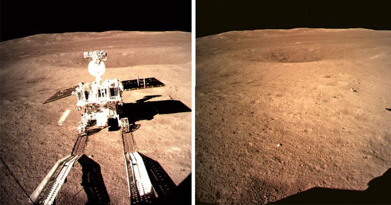 嫦娥首登月背 玉兔傳回近照 將展三大任務 揭開神秘面紗