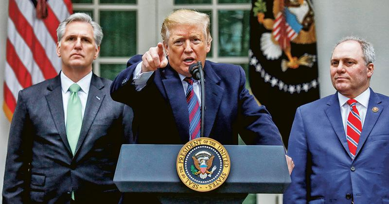 「準備好政府停擺數年」 特朗普威脅藉緊急狀態建圍牆
