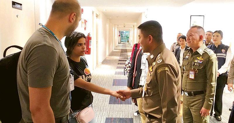 泰國讓步 沙特逃亡少女暫緩遣返 事主叛教恐回國被殺 泰官員:不會送人去死